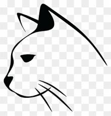 Cat Line Drawing Clip Art Transparent Png Clipart Images Free