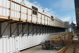 Suspended Walkway Design Usecans Com Custom Shipping Container Modifications