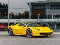 A ferrari fan has given the new 458 italia more colours. Ferrari 458 Italia Spider Yellow Used Search For Your Used Car On The Parking
