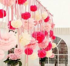 How To Make Tissue Paper Balls Decorations Free shipping 100'' Paper Pom Poms 100PCSLOT wedding party 41
