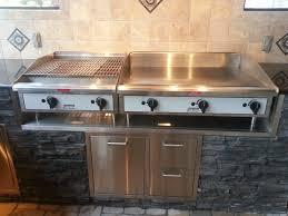 outdoor kitchen griddles photo 2