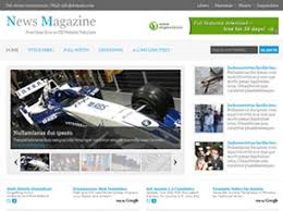 Website Template Newspaper News Magazine Free Website Template Free Css Templates