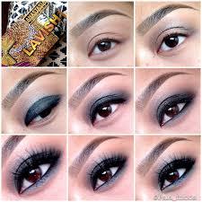 easy blue smokey eye makeup