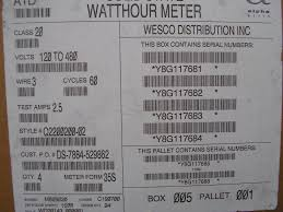 itron watthour meter kwh c2sod openway 4 lugs 240v 200a fm2s 8