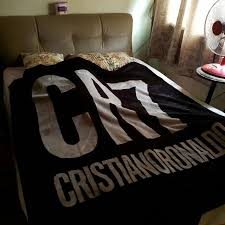 cristiano ronaldo luxurious blanket sports athletic in cr7 duvet cover plan 16