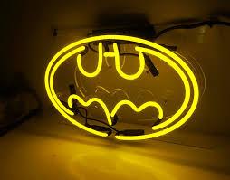 details about batman custom neon sign boutique bistro room wall artwork bedroom decor