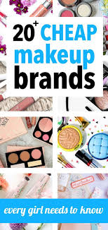 drugstore makeup brands. 20 cheap makeup brands for beauty addicts on a budget drugstore e