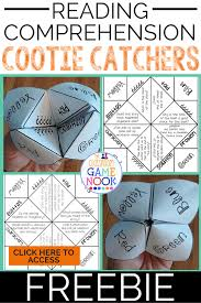 The Classroom Game Nook: Using Cootie Catchers For Reading Comprehension
