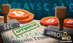 What is grayscale bitcoin trust (btc)'s stock price today? Grayscale Bitcoin Trust Scores Reporting Company License From Sec Btcmanager
