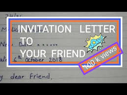 text invitation birthday party write a letter to your friend to invite him on your birthday party