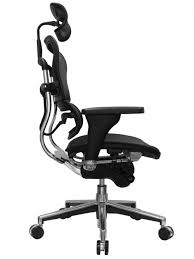 tall office chairs side view