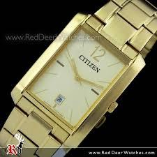 buy citizen quartz gold tone rectangle mens dress watch bd0032 55p citizen quartz gold tone rectangle mens dress watch bd0032 55p