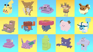 All Pokemons Evolutions In One Video Before And After The Evolution Pokemon Quest