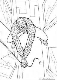 Tekeningen Te Schilderen Kleur Spiderman Print Design 014