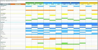Marketing Schedule Template Email Calendar Template Email