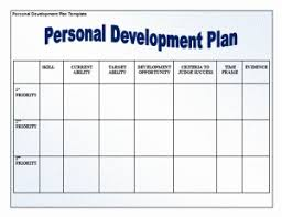 personal development plans sample personal development plan example free word templates