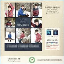 Ad Page Templates Template Senior Yearbook Ad Templates Free Prettier