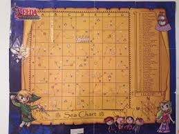 Zelda Wind Waker Sea Chart Map Wind Waker Map Complete Related Keywords Suggestions