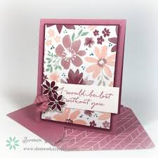 Stampinu0027 Up Independent Demonstrator UK  Tracy May Thank You Card Making Ideas Stampin Up