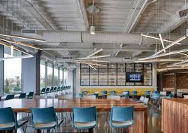 Saltmine Workplace Design Office Tour C H Robinson Headquarters Chicago