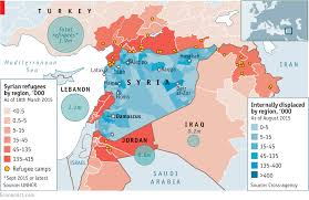 Daily Chart Syrias Drained Population Graphic Detail