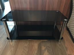 hygena matrix coffee table black gloss size h45 w100 d50