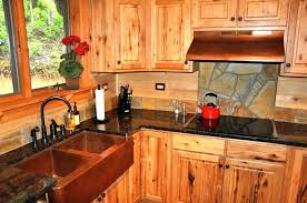 rustic kitchen cabinet hardware. rustic red kitchen cabinets with stone and copper hood apron sink unfinished . cabinet hardware