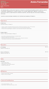 Resume For Pediatrician Pin By Hipcv On Pin Your Stuff Here Resume
