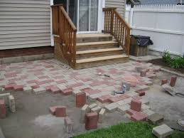 cost to build a paver patio designs