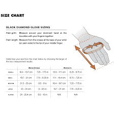 The North Face Glove Size Chart Black Diamond Spark Waterproof Leather Gloves