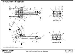 jerr dan under lift boom assembly detroit wrecker s jerr dan under lift boom assembly