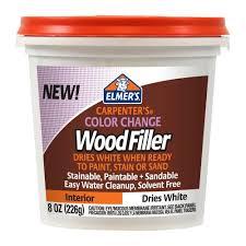 Dishwasher Rack Coating Home Depot Elmer's 100 oz Carpenter's Color Change Wood Filler Home Depot 54