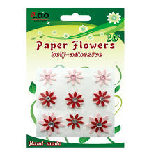 Paper Flower Quotes China Self Adhesive Paper Flower Sticker For Card Making Fr 03