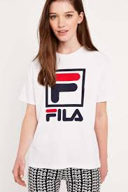 fila urban outfitters. fila logo t-shirt. urban outfitterslatest stylessporty outfitters