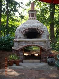 this outdoor brick oven is just perfect for a large garden my dream oven