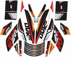 Cr Decals Designs Dominar 400 Cr Decals Designs Ktm Duke Raceline Kit Motorcycle Design