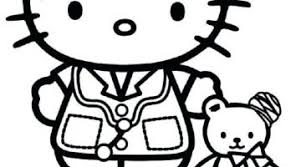 Hello Kitty Nurse Coloring Pages Prinzewilsoncom