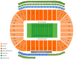 Michigan Stadium Seating Chart And Tickets
