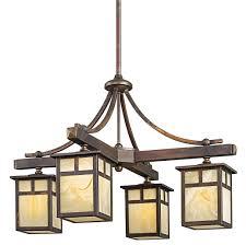 lighting surprising craftsman style chandeliers 8 z000383 craftsman