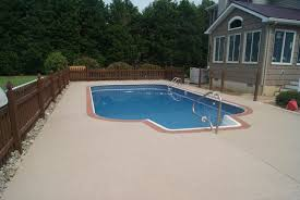 concrete pool decks. Contemporary Pool Inside Concrete Pool Decks T