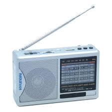 <b>Радиоприемник Hyundai H-PSR160</b>, серебристый — купить в ...