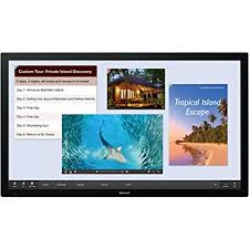 sharp interactive display. sharp - pn-l401c 40in aquos board interactive display system with 10-point b