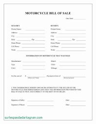 Bill Of Sale Texas Beautiful Free Bill Sale Form For Car Luxury Free