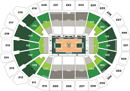 Milwaukee Bucks Seating