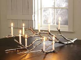 branches home decor tree branch decorations candle birch logs home decor