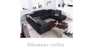 Wohnlandschaft Sofa Couch Garnitur U Form Möbel Wurm Carry U