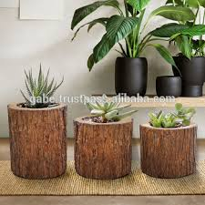 Product wooden Alibaba Bark - Home Teak Decoration Wooden com trees Wood Pot Trees Furniture Furniture Pot Stump wooden Planter Decoration Buy On