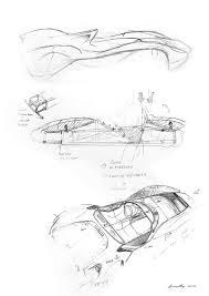Future car drawing