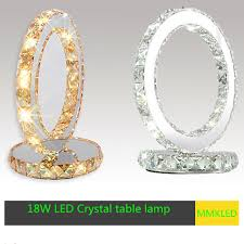 Small Decorative Table Lamps Led Crystal Table Lamp Modern Minimalist Round Creative Small 15