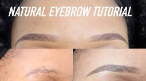 quick easy natural looking eyebrows tutorial perfect with or without makeup pauline walter you